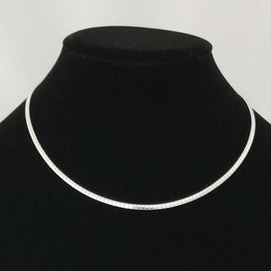 Omega Necklace Chain Stainless Steel 3mm Collar